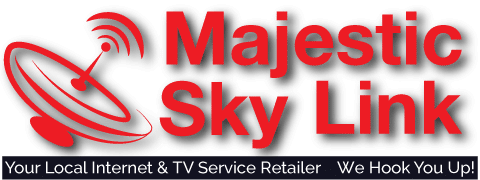 Majestic Sky Link – Internet, Cable and Satellite in Michigan Logo