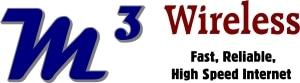 m3 wireless logo