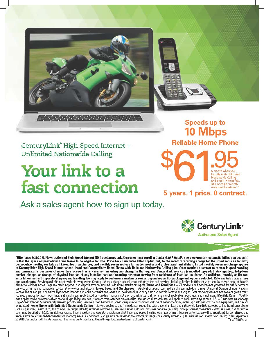 CenturyLink Info Page